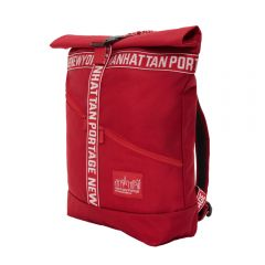 Manhattan Portage Emblem Roll-N Backpack Angle 1