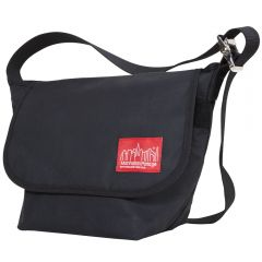 Manhattan Portage Waxed Vintage Messenger Bag (SM) - Black