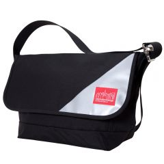 Manhattan Portage Sputnik 2.0 Messenger Bag (LG) - Black/Silver