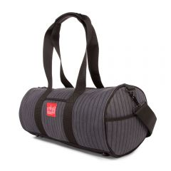 Manhattan Portage Herringbone Chelsea Drum Bag - Grey