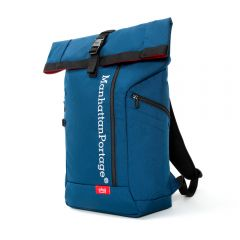 Manhattan Portage Reflective Pace Backpack - Navy
