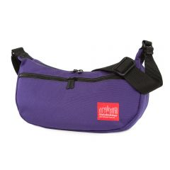 Manhattan Portage Crescent Street Shoulder Bag - Purple