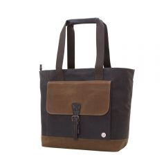 Waxed Montague Tote Bag
