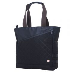 Quilted Grand Army Tote Bag