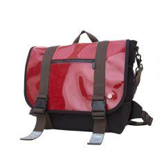 Lorimer Enamel Messenger Bag (M)