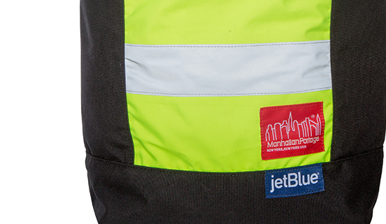 jetblue reflective backpack