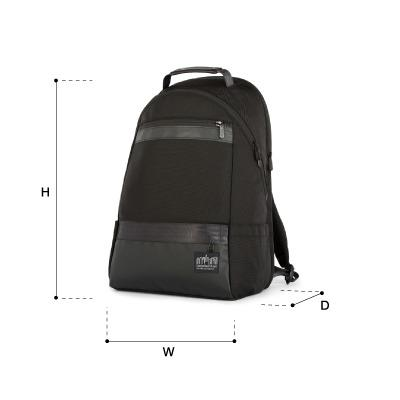 size chart Park Slope Daypack