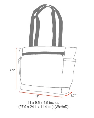 size chart urban Tote
